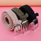Outdoor Emergency Survival Tactical Paracord Waist Belt Milspec Utility Cord