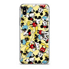 Disney Mickey Graffiti Pattern Phone Case Cover For iPhone Samsung LG Motorola