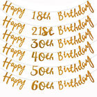 Glitter Happy Birthday Letter Bunting Garland Banner Party Decoration 18 30 60th