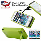 4200mAh External Battery Backup Charger Power Bank Case Cover For iPhone 5 5S 5C