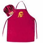 chef hat & apron bbq tailgating NCAA PICK YOUR TEAM tailgate barbecue party