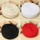 2-10m Cotton Webbing Herringbone Twill Tape Sew Strap Diy Apron Bunting 25mm