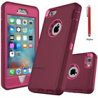 iPhone 7 8 Plus 6S XS Max XR XS X Case Cover Protective Hybrid Rugged Shockproof