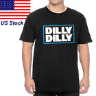 Dilly Dilly Drinking Friend Men's Cotton Bud Beer Funny Vintage Gift  T Shirt