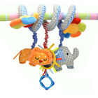 baby sozzy activity spiral curl toy cot bed pram hanging developmental toy