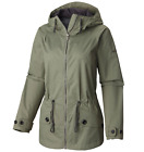 Columbia Women's Regretless Jacket size Medium Hooded Waterproof Spring