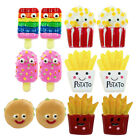 TFB - FOOD FRENZY STUD EARRINGS JUNK FOOD SNACK KITSCH QUIRKY NOVELTY CUTE FUN
