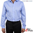 NEW TOMMY HILFIGER MEN'S SLIM FIT NON IRON CASUAL FORMAL DRESS SHIRT 24N0290