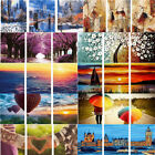 3 Parts Paint By Number Kit DIY Digital Oil Scenery Painting Canvas Home Decor