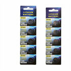 5X Button Cell Coin Battery For CR1620 CR1632 3V LM1632 BR1632 ECR1632