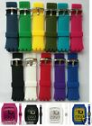 24mm Rubber silicon strap bracelet band (fits) Swatch TOUCH surb100 surw100 etc