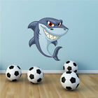Shark Sea Life Wall Art Sticker Decal Mural Transfer Boys Girls Bathroom WSD216