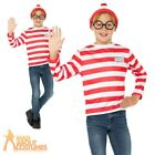Child Wheres Wally Instant Kit Book Week Day Boys Girls Fancy Dress Outfit Kids