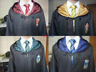 Harry Potter Cosplay Kostüm Gryffindor Ravenclaw HUFFLEPUF Robe Mantel Umhang