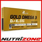 OLIMP OMEGA 3 D3 K2 SPORT Fish Oil Vitamin Complex Heart Bones Blood Support
