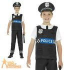 Child Cop Costume Policeman Boys Fancy Dress Book Week Day Outfit Kids