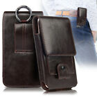 Premium Leather Universal Pouch Case Cover Holster/Belt Loop For Samsung Galaxy