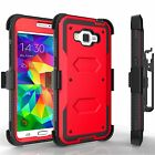 Outer Box Hard Rubber Hybrid Belt Clip Holster Kickstand Cell Phone Case Cover