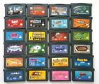 Vintage & Authentic Gameboy Advance Games Lot ~ Play on GBA SP DS DSL XL 3DS 2DS