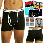 4 Pack Men's Stretch Cotton Multi Color Boxer Briefs Underwear Trunk Shorts Lots