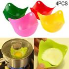 4pcs Silicone Egg Poacher  Poach Pods Kitchen Cookware Poached Baking Cup  PT