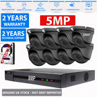 8CH Hikvision CCTV 4K HD 4MP 5MP Night Day Outdoor DVR Home Security System Kit