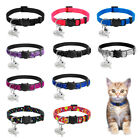 Breakaway Cat Collar Safety Quick Release Personalized ID Tag Collars Adjustable