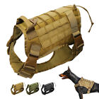 Military Working Dog Harness K9 Molle Tactical German Shepherd Vest Police Dogs for sale  Shipping to Canada