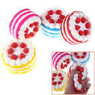 12CM Squishy Strawberry Vanilla Cake Slow Rising Scented Bread Kids Toy FO