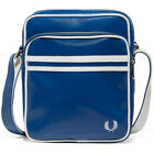 Fred Perry Classic Side Unisex Bags Blue White