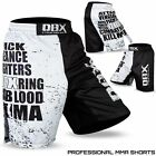 MMA Grappling Shorts Cage Figter UFC Kick Boxing Short Muay Thai S-M-L-XL-2XL
