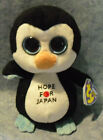 W-F-L TY Beanie Boos Penguin Owl Selection Stuffed Toy Parrot