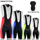 Mens Cycling Tights Bib Shorts HI Density Padded MTB Bike Legging S,M,L,XL