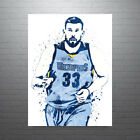 Marc Gasol Memphis Grizzlies Poster FREE US SHIPPING on eBay
