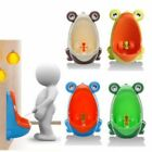 Penguin Frog Children Toddler Boy Potty Toilet Training Urinal Pee Bathroom