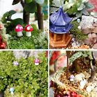 Fairy Yard Dollhouse Lawn Plants Pot Bonsai Mushroom Garden Figurine Landscape