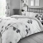 Honesty Leaf Duvet Cover with Pillowcase Quilt Cover Bed Set Single Double King