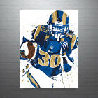 Todd Gurley Los Angeles Rams Poster FREE US SHIPPING $14.99 USD on eBay