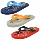 Boys Samoa Kids Flat Toepost Flip Flops - Cat - No Box