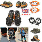 UK Anti Slip Snow Shoe Ice Grippers For Shoes Boots Safety Soles Overshoe Grip