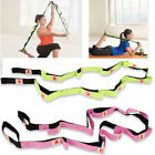10 Loops Yoga Stretch Strap Fitness Durable Pilates Belt-Physical Therapy LQ image