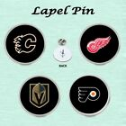 ICE HOCKEY TEAMS LAPEL PIN GREAT GIFT IDEA STOCKING FILLER $4.99 USD on eBay
