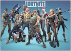 Fortnite Video Game Large Poster Art Print A0 A1 A2 A3 A4 Maxi