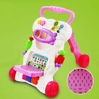 Stand Walker Pink Girl Baby Toddler Learning Infant Plastic Toy Cute Fun.UK