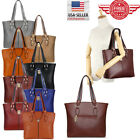 Women Leather Purses and Handbags Shoulder Hobo Messenger Crossbody Tote Bag T01 image
