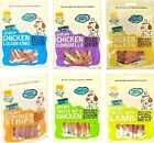 DELI TREATS - (x3) - Good Boy Pawsley Natural Meat Bones Strips Fillets bp Dog