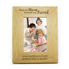 Personalised FIRST MY MUM, FOREVER MY FRIEND Frame 4x6 5x7 8x10 Mother's Day Mum