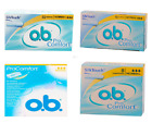 O. B. Pro Comfort Normal tampons 8 / 16 / 32 / 56 pieces