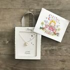 Ladies Disney Mickey Mouse Birthstone Silver Necklace Primark Womens Girls Gift