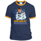Moonraker, James Bond, Roger Moore, 007, PC54R Port & Co. Ringer Tee $21.99 USD on eBay